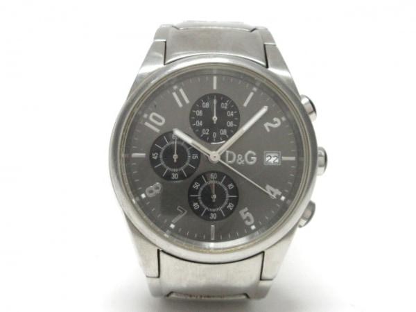 D&G(ディーアンドジー) 腕時計 - メンズ クロノグラフ ダークグレー