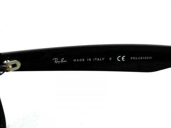 Ray-Ban(レイバン) サングラス美品  ニューウェイファーラー RB2132 黒 プラスチック