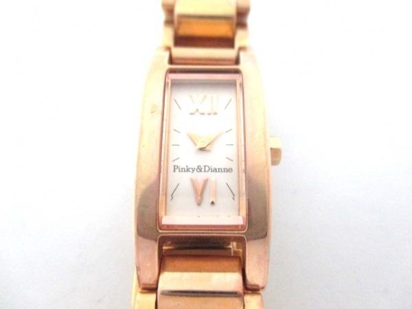 Pinky&Dianne(ピンキー&ダイアン) 腕時計 1N00-0MF0 レディース ピンクゴールド