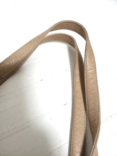 ANTEPRIMA(アンテプリマ) トートバッグ - ベージュ コットン×化学繊維×レザー