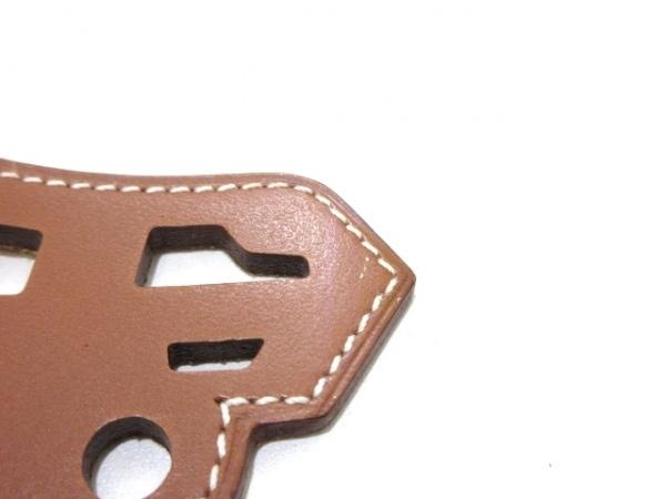 HERMES(エルメス) キーホルダー(チャーム)美品  パドック シュバル フォーブ 馬
