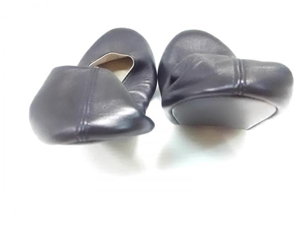 CHANEL(シャネル) 靴 37 1/2 レディース美品  黒 ルームシューズ レザー