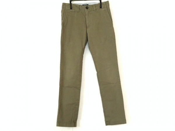Burberry Black Label(バーバリーブラックレーベル) パンツ サイズ70 メンズ カーキ