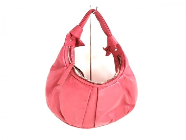 土屋鞄製造所(ツチヤカバンセイゾウショ) ハンドバッグ ピンク レザー