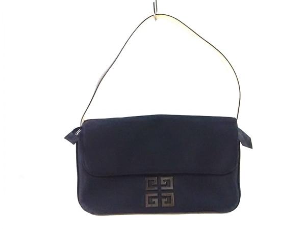 GIVENCHY(ジバンシー) ハンドバッグ - 黒 化学繊維
