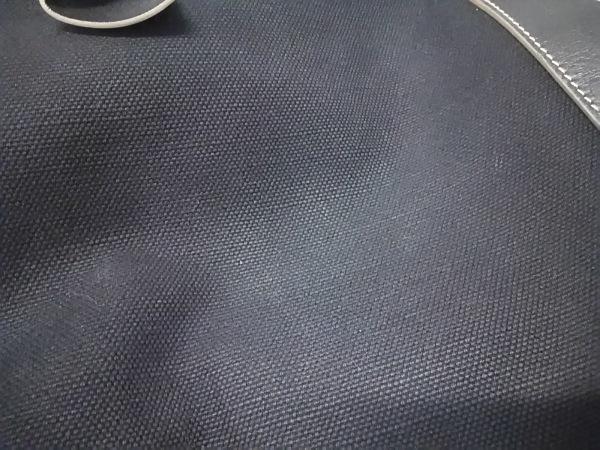 サルバトーレフェラガモ トートバッグ ヴァラ 黒 キャンバス×レザー 9