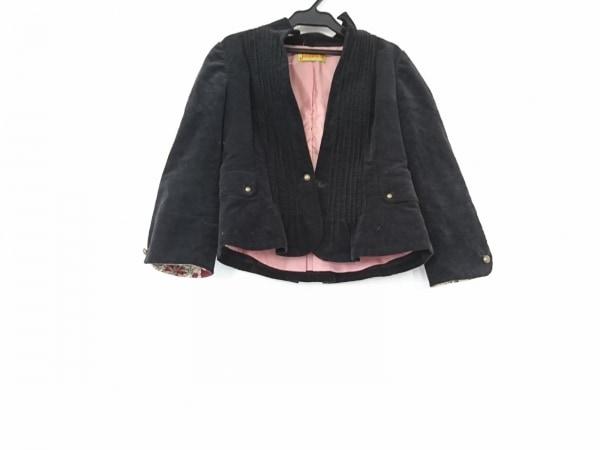 JOCOMOMOLA(ホコモモラ) ジャケット サイズ42 L レディース 黒