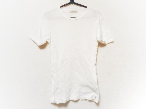 エンポリオアルマーニ アンダーウェア 半袖Tシャツ サイズL メンズ 白