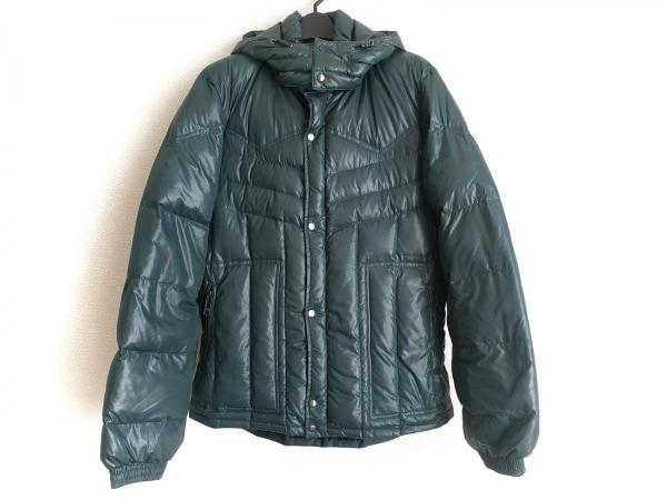 ティーケータケオキクチ ダウンジャケット サイズ4 XL メンズ グリーン 冬物