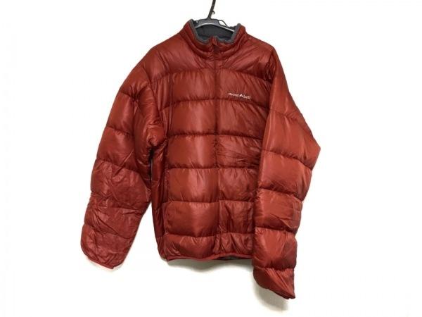 mont-bell(モンベル) ダウンジャケット サイズL レディース美品  ブラウン 冬物