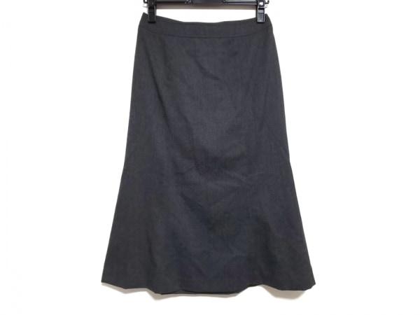 バーバリーロンドン スカート サイズ38 L レディース美品  ダークグレー