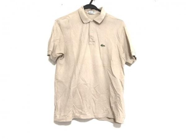 Lacoste(ラコステ) 半袖ポロシャツ サイズM レディース美品  ベージュ