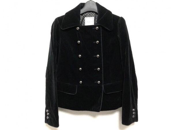 anatelier(アナトリエ) ジャケット サイズ36 S レディース 黒 ベロア