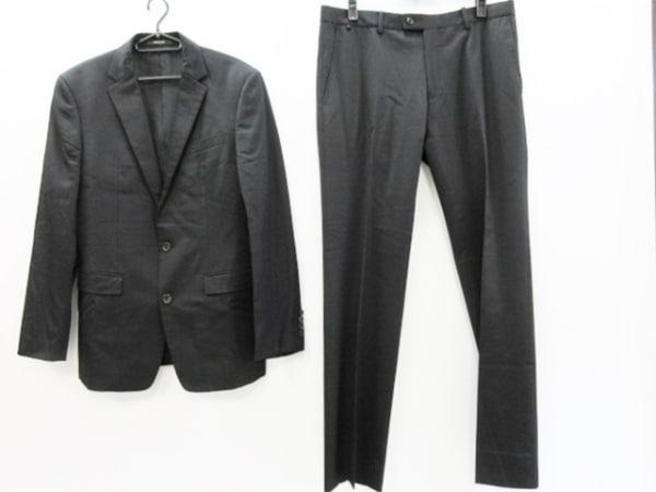 COMME CA MEN(コムサメン) シングルスーツ サイズ48 XL メンズ 黒