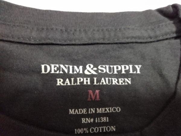ラルフローレンデニム&サプライ 半袖Tシャツ サイズM メンズ美品