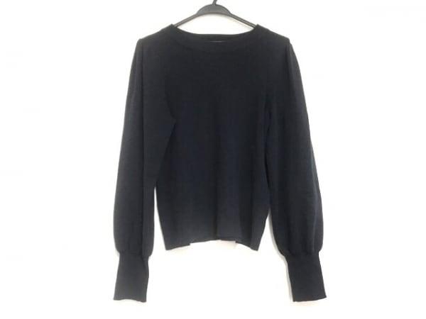 Mila Owen(ミラオーウェン) 長袖セーター サイズ1 S レディース美品  ネイビー