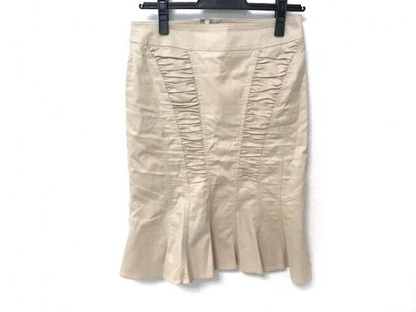 マテリア スカート サイズ36 S レディース美品  ベージュ ギャザー 1