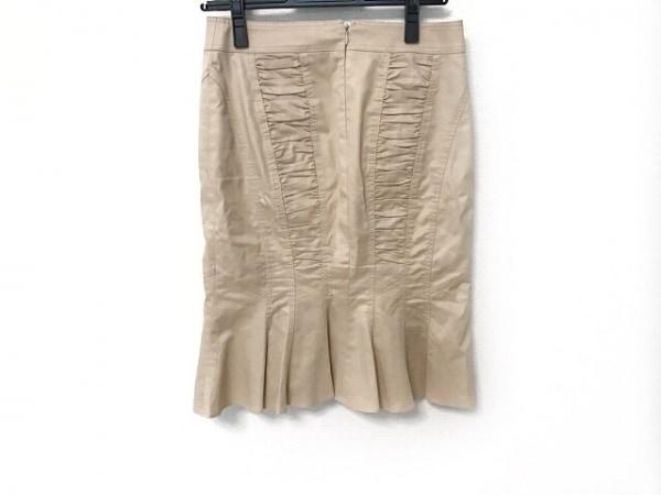 マテリア スカート サイズ36 S レディース美品  ベージュ ギャザー 2