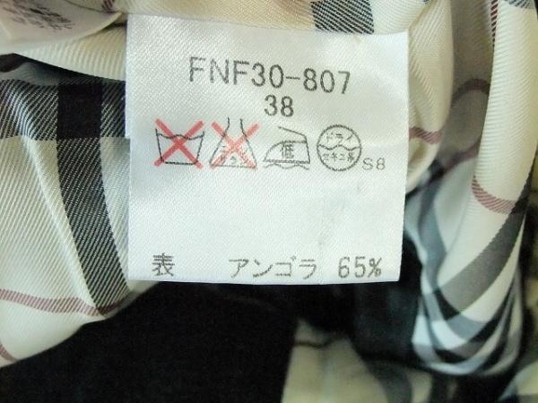 Burberry Blue Label(バーバリーブルーレーベル) コート サイズ38 M メンズ 黒 冬物