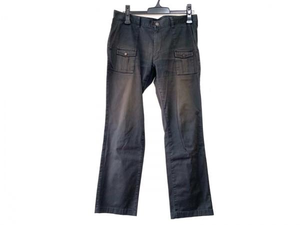 バーバリーブラックレーベル パンツ サイズ79 メンズ 黒 ストライプ