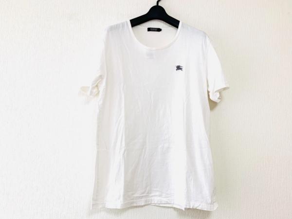 Burberry Black Label(バーバリーブラックレーベル) 半袖Tシャツ サイズ3 L メンズ 白