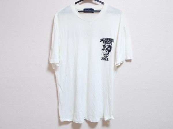 HYSTERIC(ヒステリック) 半袖Tシャツ サイズL メンズ 白 スカル