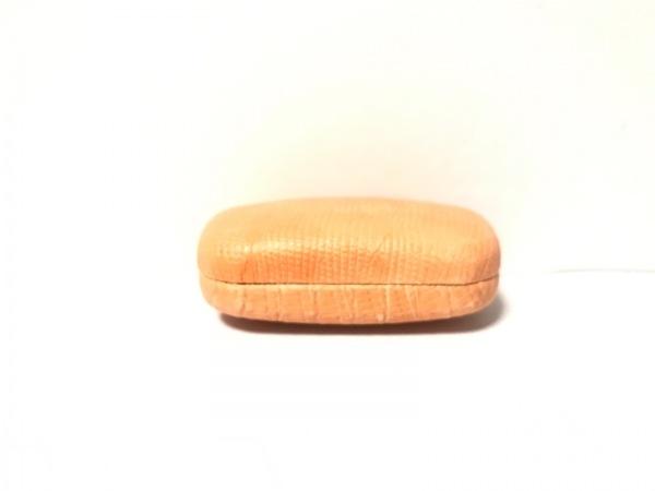 GIORGIOFEDON(ジョルジオフェドン) 小物入れ オレンジ 型押し加工 レザー