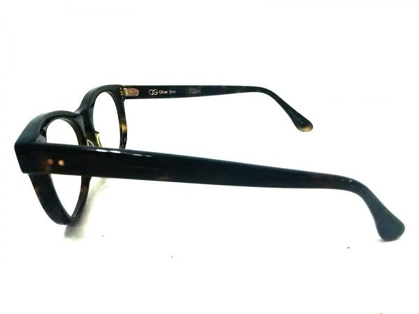 オリバーゴールドスミス メガネ ANNABEL 黒×クリア 度入り プラスチック