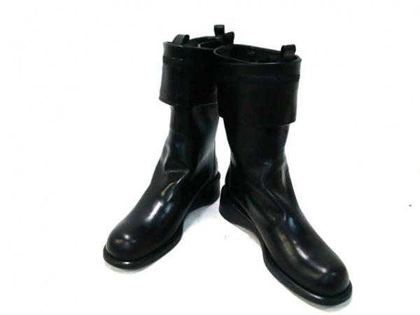 ANTEPRIMA(アンテプリマ) ブーツ 37 1/2 レディース 黒 レザー