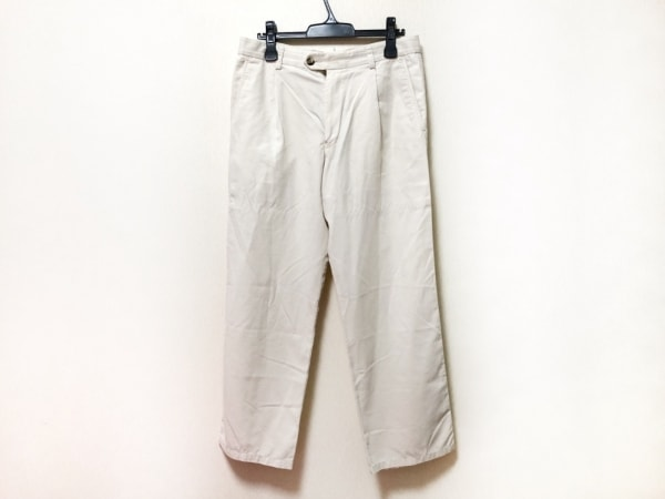 Zegna Sport(ゼニア) パンツ サイズ48/33 メンズ アイボリー