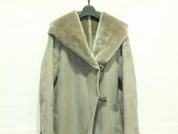 Espeyrac(エスペラック) コート レディース グレー フェイクムートン/冬物