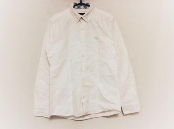 Burberry Black Label(バーバリーブラックレーベル) 長袖シャツ サイズ1 S メンズ 白