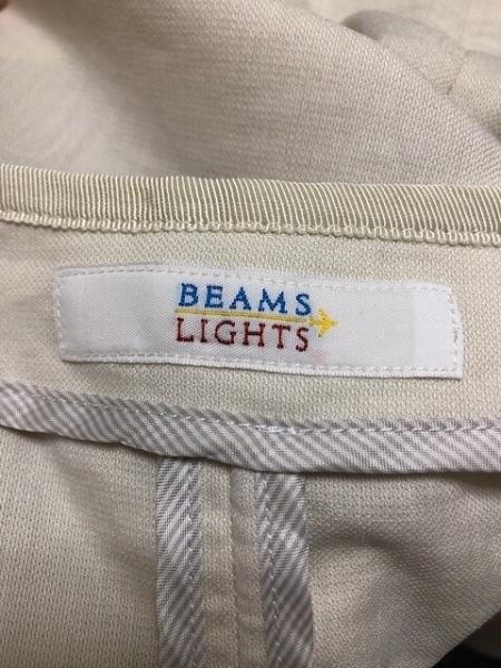 BEAMS Lights(ビームスライツ) ジャケット サイズ38 M レディース美品  ベージュ