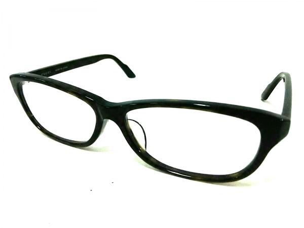 GUCCI(グッチ) メガネ シェリー GG-9092J 黒×マルチ 度入り プラスチック