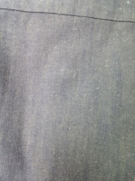 DRESS CAMP(ドレスキャンプ) 長袖シャツ サイズ46 XL メンズ ネイビー