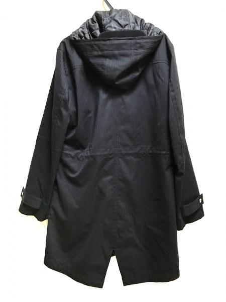 COMME CA MEN(コムサメン) コート サイズM メンズ美品  黒 冬物/インナー取り外し可能