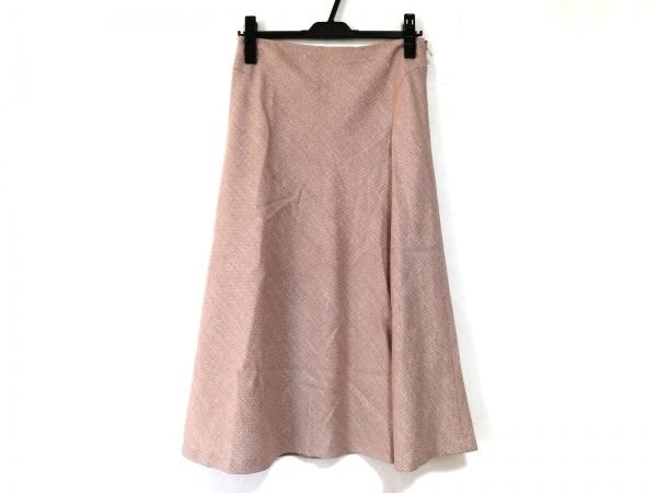23区(ニジュウサンク) スカート サイズ38 M レディース美品  ピンク ラメ