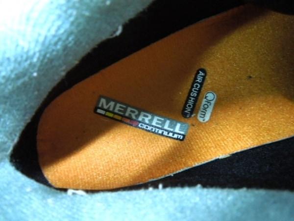 MERRELL(メレル) スニーカー レディース ベージュ×ダークグレー 合皮×化学繊維