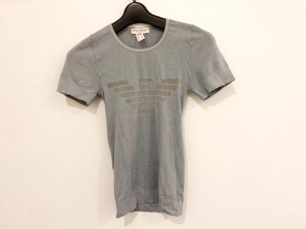 エンポリオアルマーニ アンダーウェア 半袖Tシャツ レディース ライトブルー