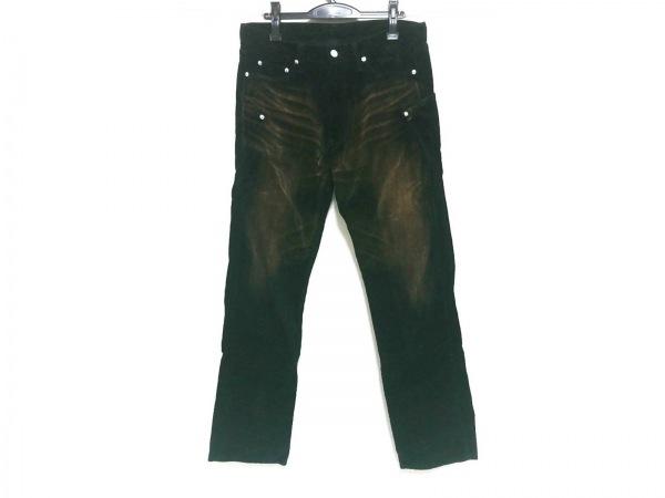 Project SRS(エスアールエス) パンツ サイズL メンズ 黒×ブラウン コーデュロイ