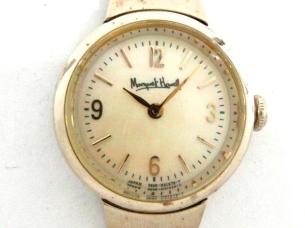 MargaretHowell(マーガレットハウエル) 腕時計 5920-H13031 レディース アイボリー
