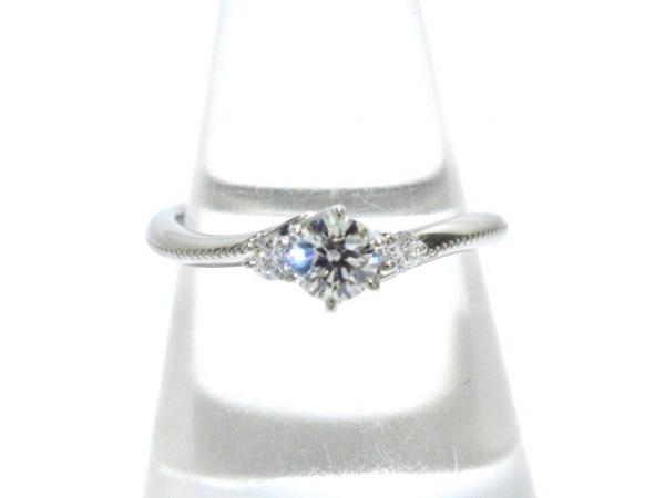 EXELCO(エクセルコ) リング新品同様  Pt950×ダイヤモンド