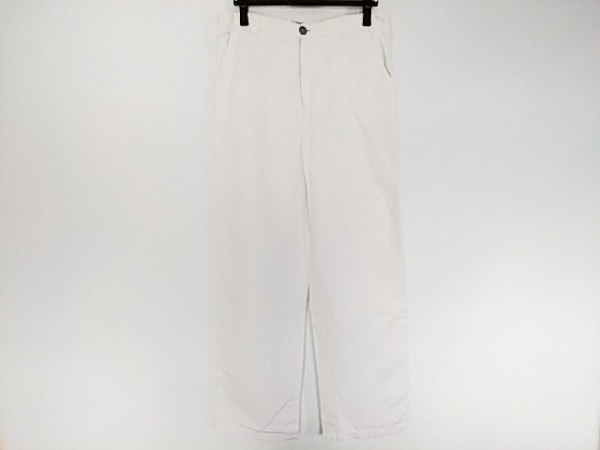 ARMANICOLLEZIONI(アルマーニコレッツォーニ) パンツ サイズ46 S メンズ 白