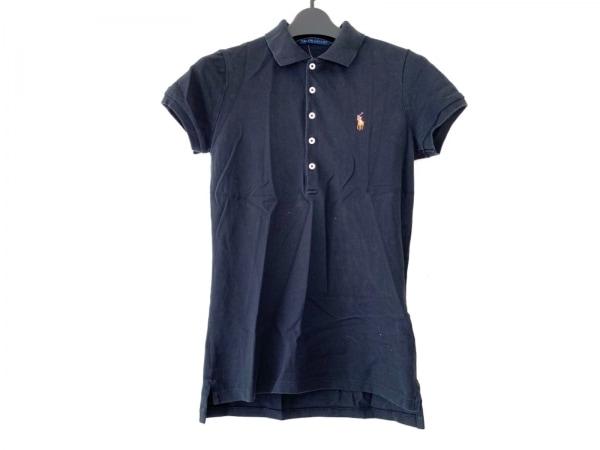 RalphLauren(ラルフローレン) 半袖ポロシャツ サイズS レディース 黒