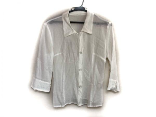 INGEBORG(インゲボルグ) 七分袖シャツブラウス サイズM レディース美品  白