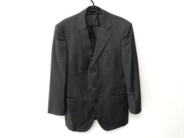 コムサコレクション シングルスーツ サイズLL メンズ美品  ダークグレー