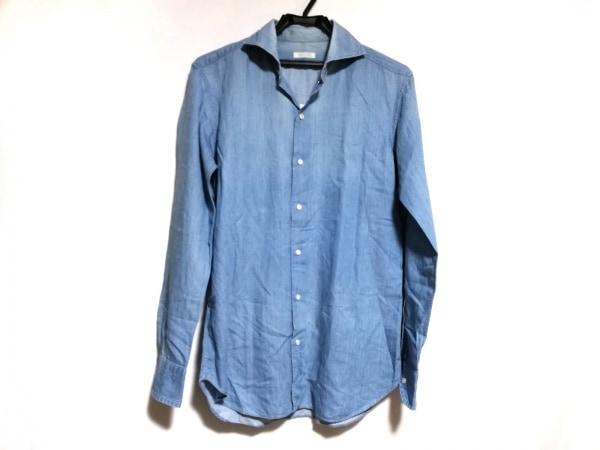 DESIGNWORKS(デザインワークス) 長袖シャツ サイズ46 XL メンズ ライトブルー