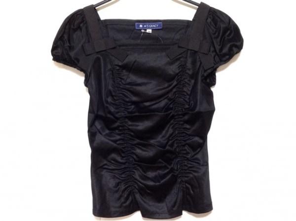M'S GRACY(エムズグレイシー) 半袖Tシャツ サイズ38 M レディース 黒 リボン