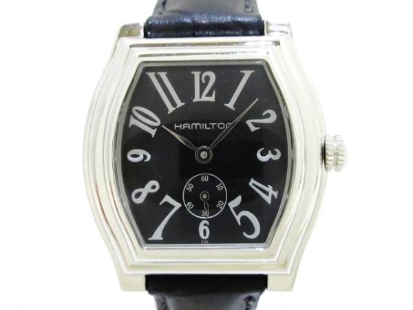 HAMILTON(ハミルトン) 腕時計美品  - レディース 黒