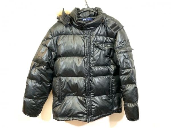 Penfield(ペンフィールド) ダウンジャケット サイズLL メンズ 黒 冬物/フェイクファー